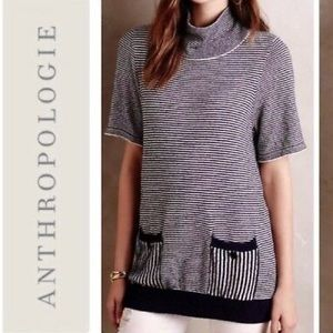 Anthropologie Tops - ANTHRO//MOTH • Margate Mock Stripe Pullover Tunic